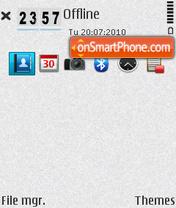 Daiy 7 icon base es el tema de pantalla