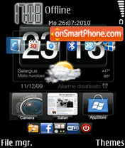 Htc 03 theme screenshot
