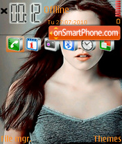 Скриншот темы Bella Swan 01