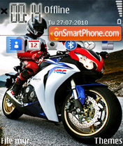 Bike 11 theme screenshot