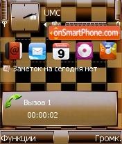 Chess Desk es el tema de pantalla
