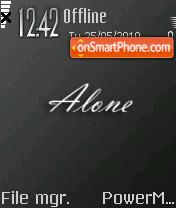 Alone 18 es el tema de pantalla