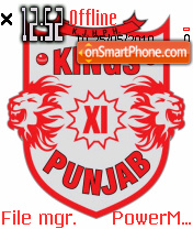 Kings punjab theme screenshot