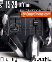 Capture d'écran Music 5318 thème