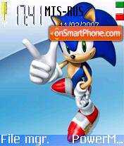 Sonic 2 Ir es el tema de pantalla