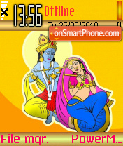 Radhakrishna 01 theme screenshot