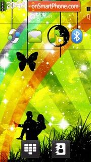 Lovely Couple tema screenshot