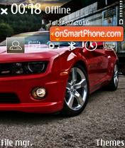 Скриншот темы Camaro ss 2010