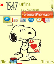 Snoopy 04 theme screenshot