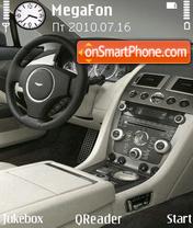 Скриншот темы Aston-Martin