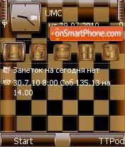 Chess Desk 2 es el tema de pantalla