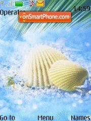 Seashell_ tema screenshot