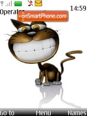 Smile cat 01 theme screenshot