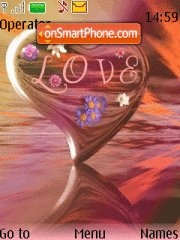Love m tema screenshot
