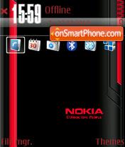 Red Nokia 05 es el tema de pantalla