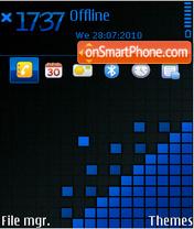 Скриншот темы Pixels