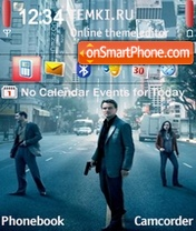 Inception Leonardo DiCaprio theme screenshot