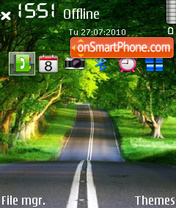 Road 70 tema screenshot