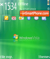 Vista 11 theme screenshot