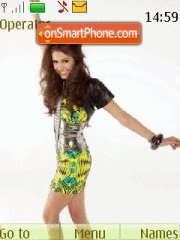Nina Dobrev theme screenshot