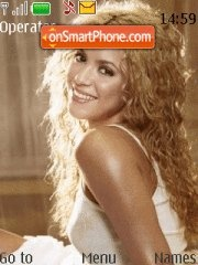 Shakira theme screenshot