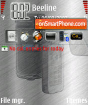 Family N93 theme screenshot