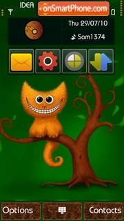 Smile v5 theme screenshot