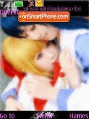 Kannazuki no miko cosplay theme screenshot