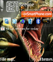 Скриншот темы Raptor