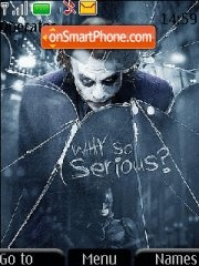 Joker dark knight theme screenshot