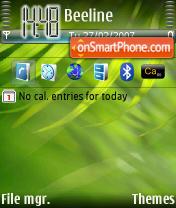 Скриншот темы GreenLabel