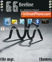 Obida theme screenshot