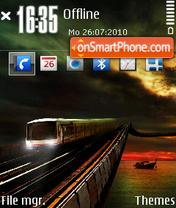 Train 02 theme screenshot