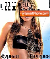 Carmen Electra2 theme screenshot