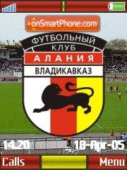 FC Alaniya K850 es el tema de pantalla