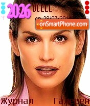Cindy Crawford theme screenshot