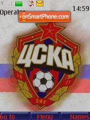 CSKA theme screenshot