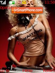 Capture d'écran DJ Benzina Hot thème