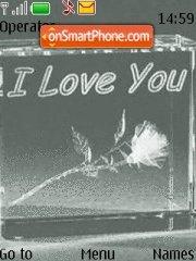 I Love U 09 tema screenshot