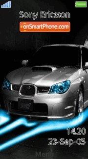 Subaru Impreza Wrx 01 es el tema de pantalla