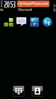 Скриншот темы New Black 01