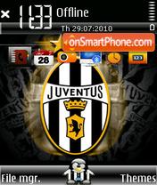 Juventus fc 02 theme screenshot