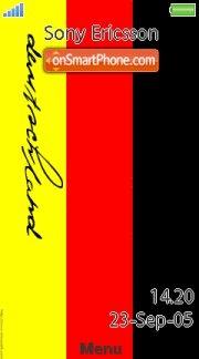 Deutschland 01 es el tema de pantalla