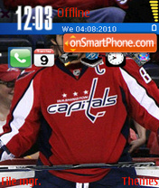 Alex Ovechkin theme screenshot