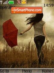 Alone Girl 03 theme screenshot