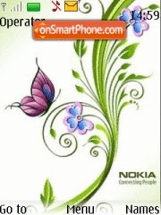 Nokia Creative theme screenshot