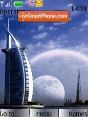 Burj Al Arab 01 theme screenshot