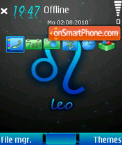 Leo 11 theme screenshot