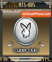 Playboy Cyberclub theme screenshot