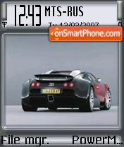 Bugatti Veyron es el tema de pantalla